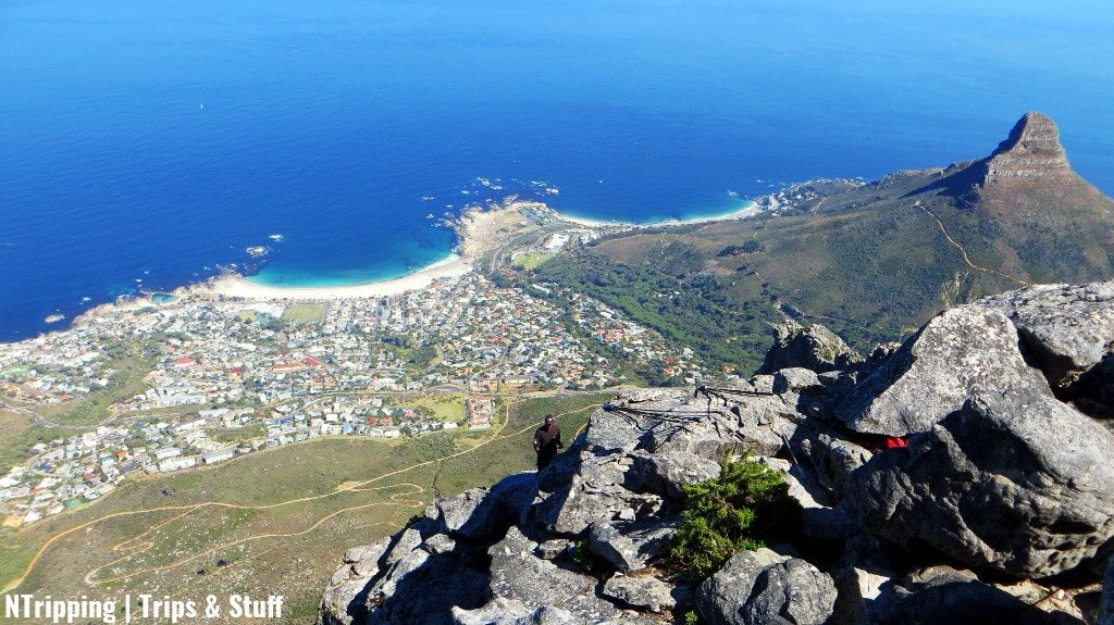 Lions Head And Camps Bay From Table Top