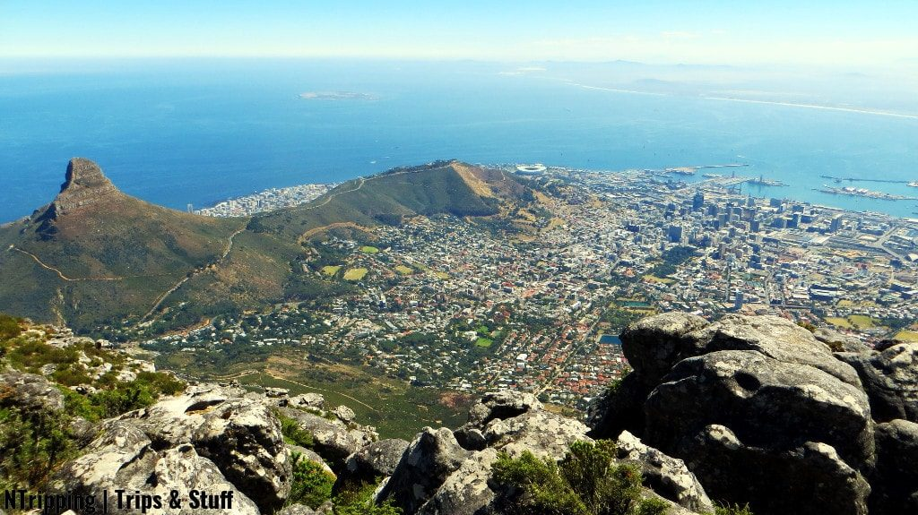 View Of Cape Town From Table Top